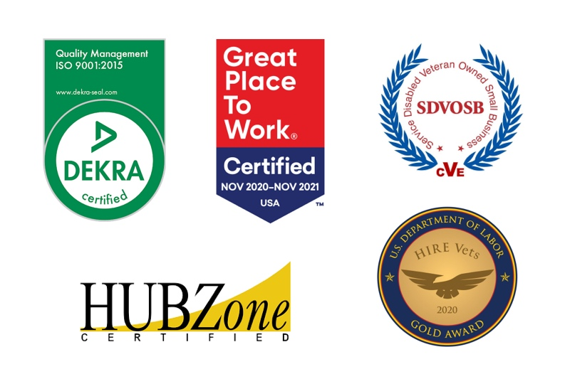 Kitty Hawk Technologies is a service-disabled veteran owned small business, is hubzone certified, is ISO 9001-2015 certified