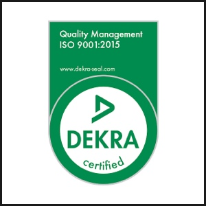 DEKRA certified green badge