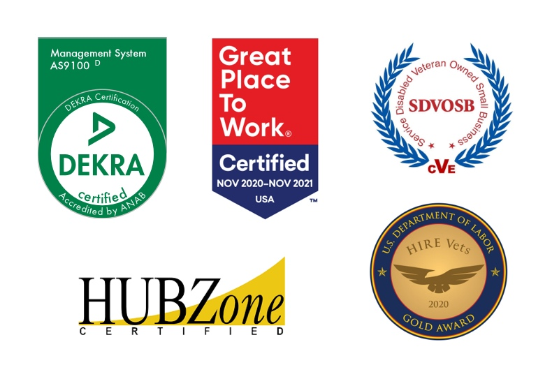Kitty Hawk Technologies is a service-disabled veteran owned, hubzone certified, AS9100-2021 certified small business